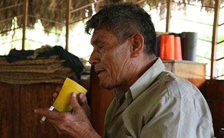 Ceremonie Tabac