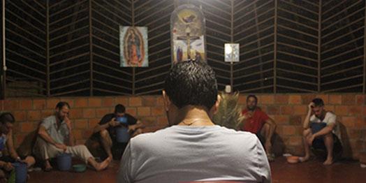The ritual ceremony of purgahuasca
