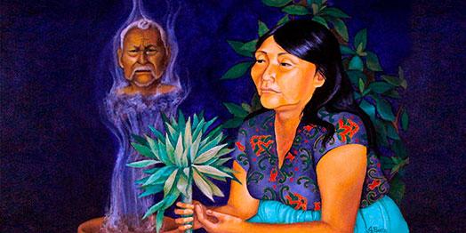 La voix de l'intelligence dans la session d'Ayahuasca